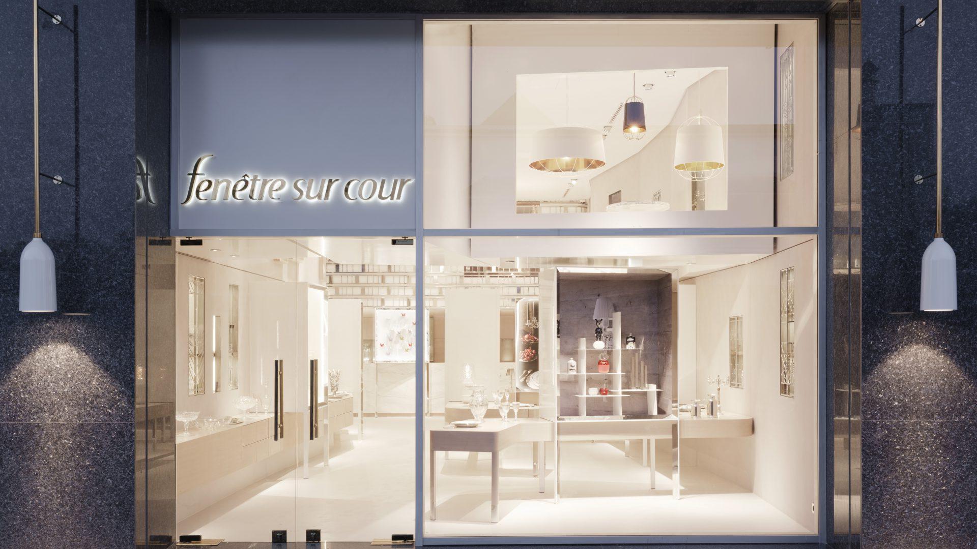 Fen tre sur cour rabat rf studio agence de design for Fenetre sur cour casablanca